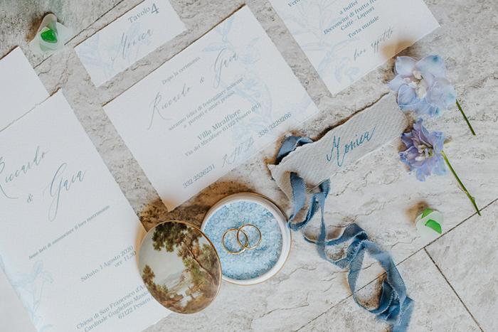 dusty blue wedding invitation, dusty blue wedding suite, inviti matrimonio blu, matrimonio azzurro polvere, matrimonio elegante