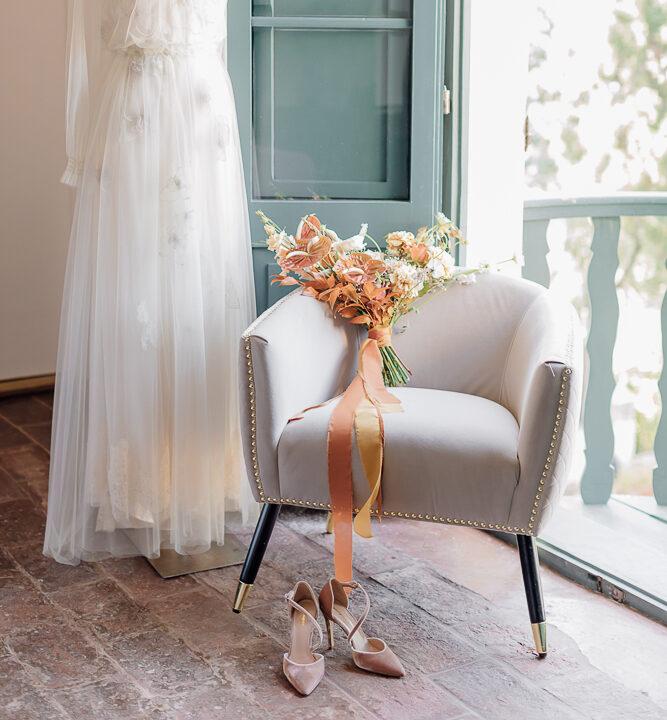 autum terracotta bouquet