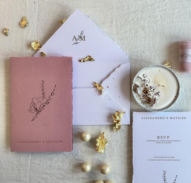 rose wedding invitation, fine art rose wedding invitation