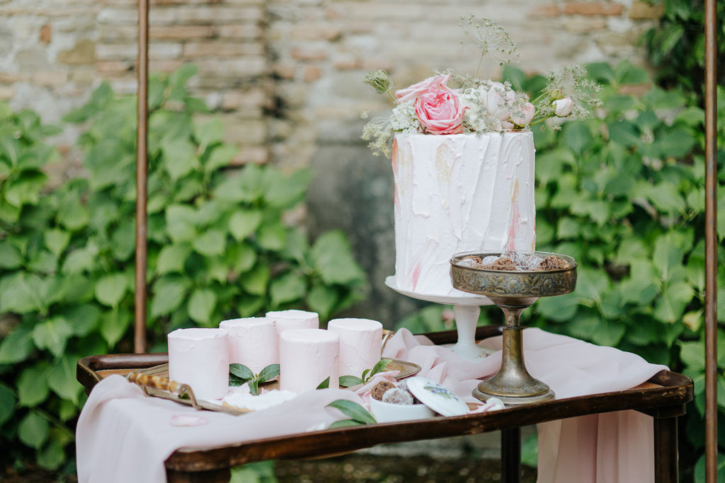 sweet corner, confettata vintage, vintage wedding inspiration